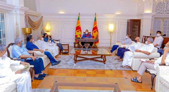 Coalition Leaders meet PM over Kerawalapitiya Deal