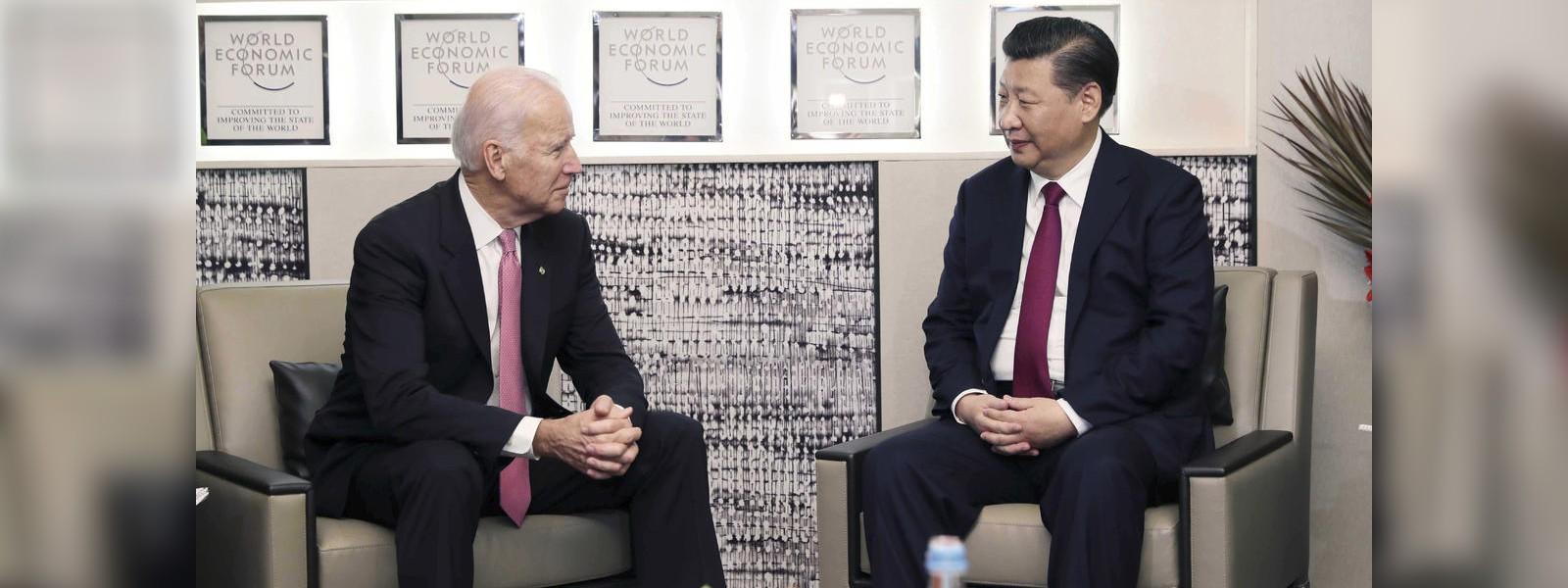 Joe Biden – Xi Jinping speak for first time in seven months