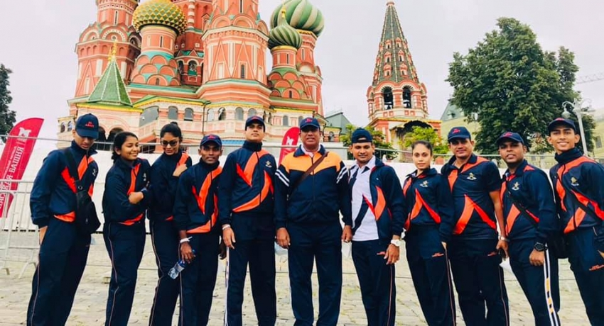 Sri Lanka Army WINS BIG in Army 2021 in Russia