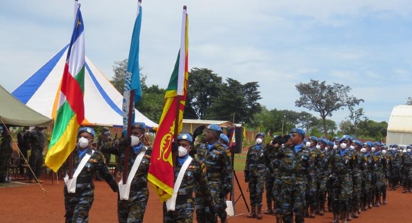 6th Sri Lankan Aviation Contingent Recognized in Award Ceremony