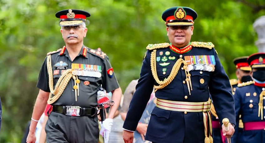 Indian Army Chief meets Paralympic Gold Medalist at Gajaba Regiment's 38th Anniversary,