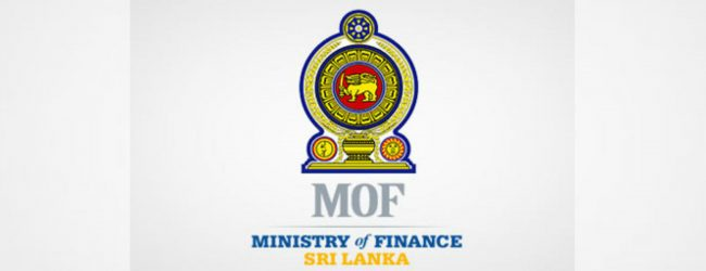 Special priorities under Finance Ministry, amended