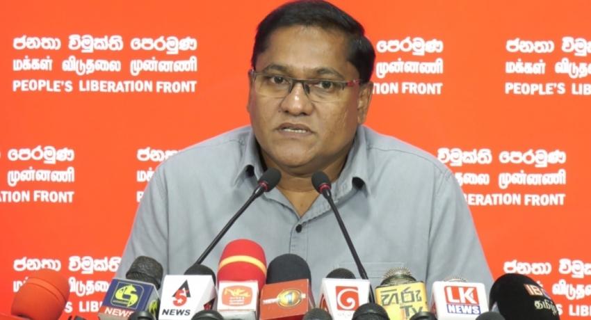 People First, NOT Polls – JVP's Vijitha Herath