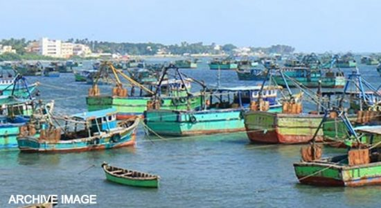 Indian Police warn their fishermen against crossing into 'Sea of Sri Lanka'.