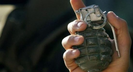 Suspect arrested with hand grenade in Kinniya