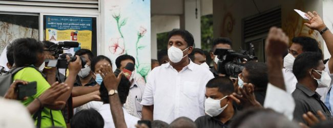 Sajith pledges to constitutionalize rights of the poor