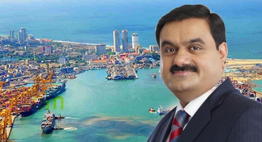 Indian Billionaire Gautam Adani in Sri Lanka, expected to meet President