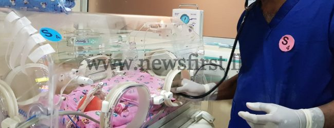Pictures of Sri Lanka's first Sextuplet delivery released