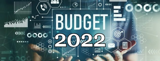 2022 Budget to Parliament on the 12th of November