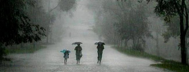 Showers expected from tomorrow: Met Department