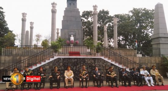 Indian Army Chief pays tribute at IPKF memorial