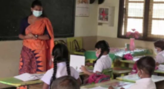 Sri Lanka opens schools for primary students after almost five months