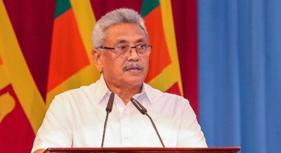 Sri Lanka will go carbon neutral by 2050: President