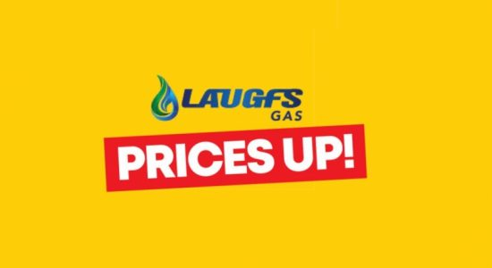 Laugfs Gas (Domestic) Prices Increased