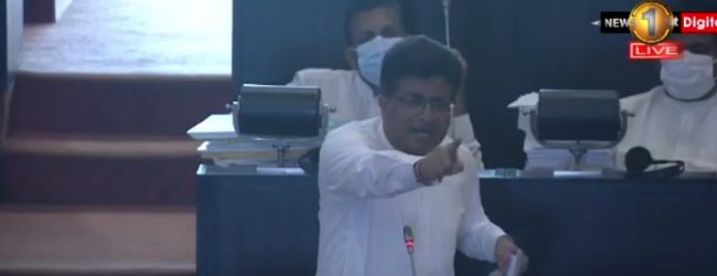 Tensions in Parliament over the Trincomalee Oil Tank Farm