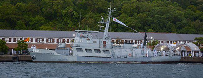 SLNS 'Jayasagara' relinquishes her service in the Navy