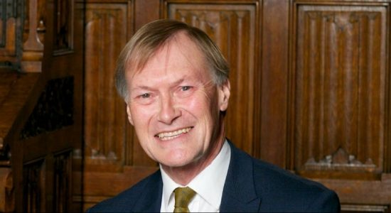 British Conservative MP Sir David Amess stabbed