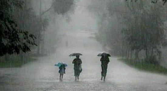 Thundershowers, showers expected tonight & tomorrow
