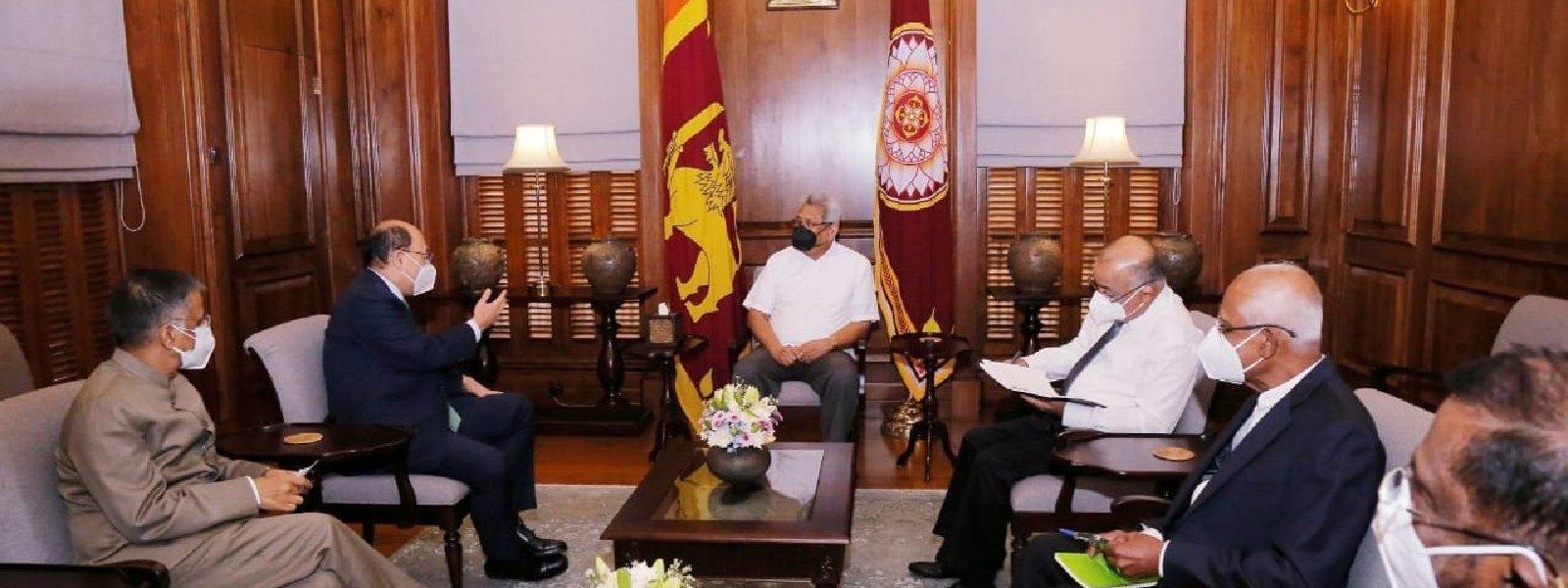 Indian Foreign Secretary meets President Rajapaksa