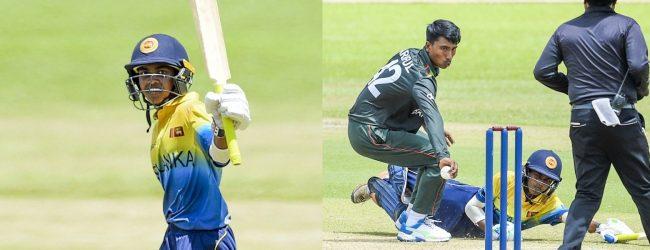 Sri Lanka U-19 beat Bangladesh by 1 run to go 2 – 0 in the series