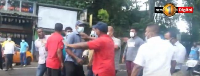 Ruling members and Opposition clash on Jogging Track
