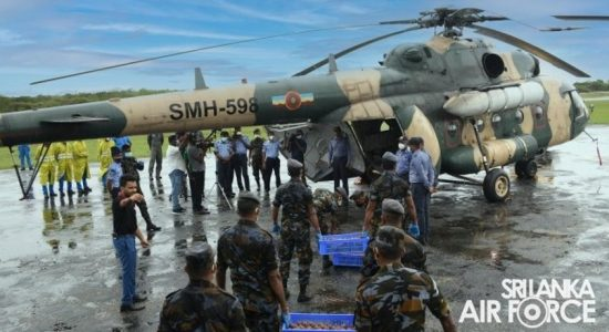 SLAF executes another Aerial Seed Bombing Operation