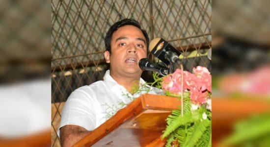 Sri Lanka a country without democracy: MP Harshana