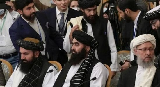 Regional powers back aid for Afghanistan as Russia hosts Taliban
