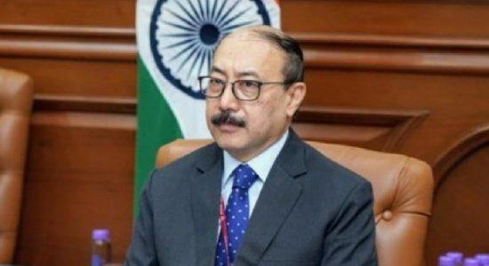 Indian Foreign Secretary Shringla raises issue of 13A