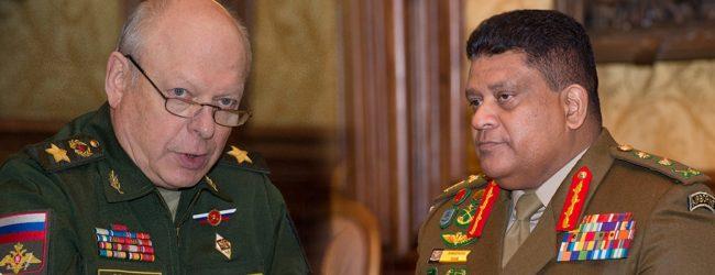 Sri Lanka & Russia discuss Military Cooperation & Goodwill