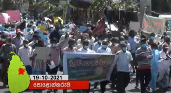 (VIDEO) Massive farmer protests in Sri Lanka over fertilizer shortage – #FarmerProtestSL
