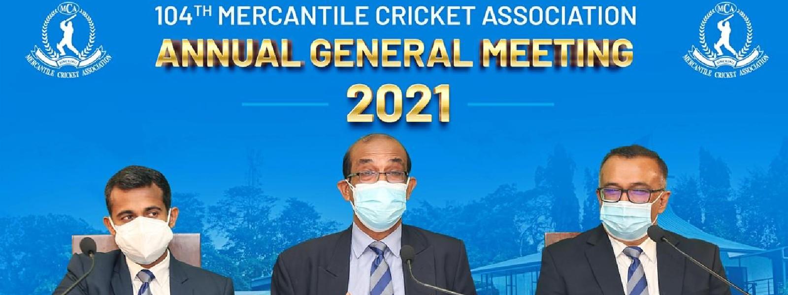 Nalin Wickramesinghe, new President of the Mercantile Cricket Association