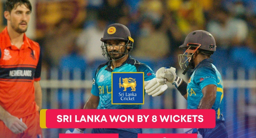 ICC T20 World Cup: Sri Lanka maintain 100% win record with win against Netherlands