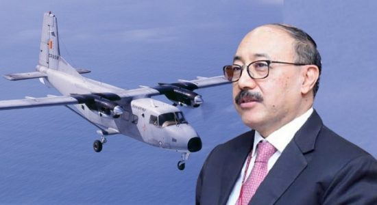 Indian Foreign Secretary's Helicopter suffers technical issue; Aircraft deployed instead
