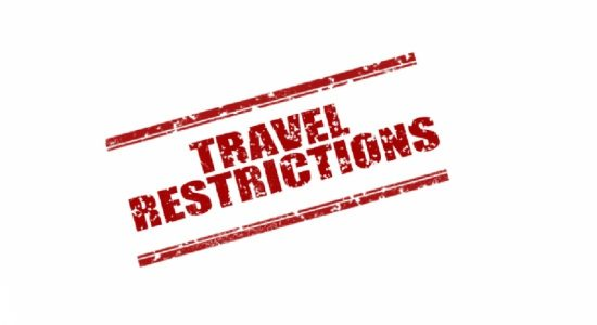 Inter-Province Travel Restrictions Extended to 21st October