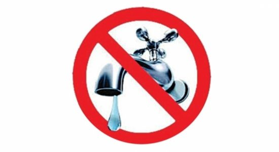 Water Cut for multiple areas in Colombo