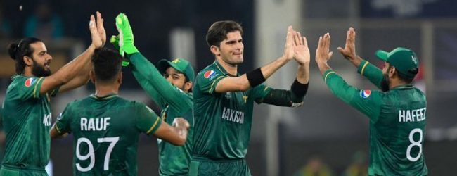Pakistan record their first-ever win in ICC Men's T20 World Cup against India
