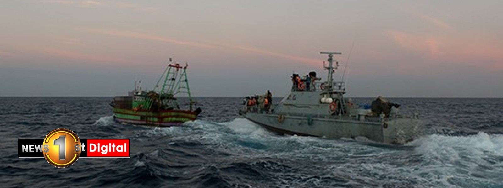 Navy seizes Indian fishing vessels poaching in Sri Lankan waters