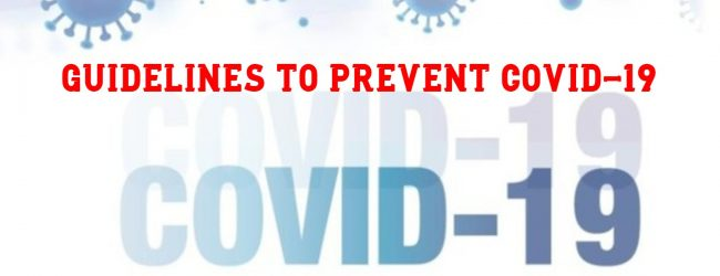 Health Ministry updates COVID-19 guidelines