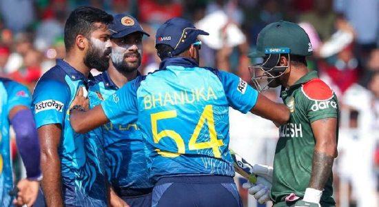ICC T20 World Cup: Lahiru Kumara and Liton Das Kumar Fined