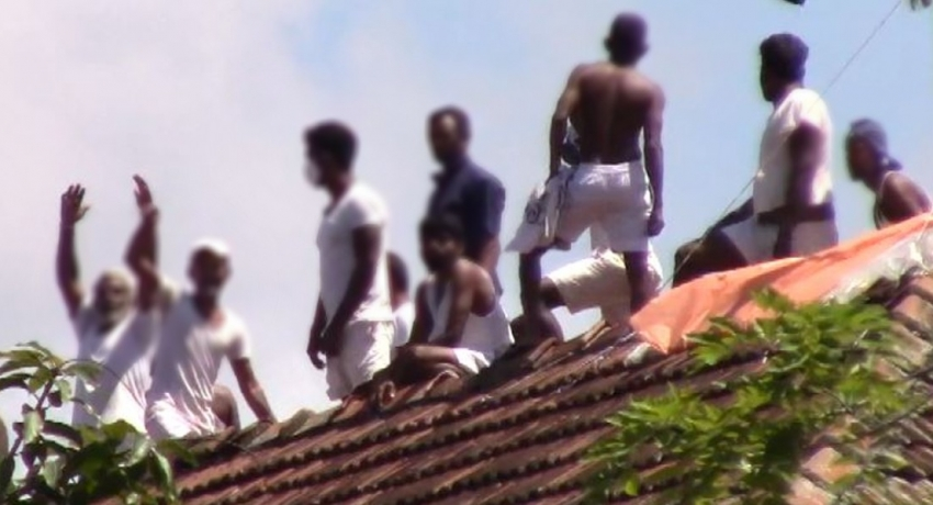 Riot at Welikada Prison under control