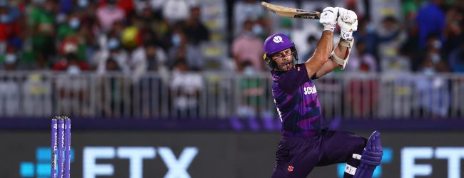 ICC T20 World Cup: Scotland stun Bangladesh to register a 6-run win