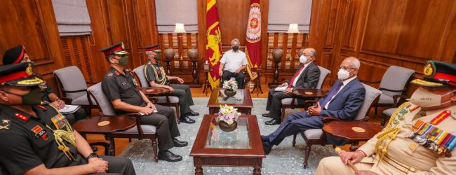 Indian Army Chief meets President Rajapaksa & Prime Minister