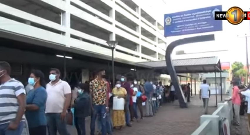 Long Queues for passports: Sri Lankans opting to leave the country?