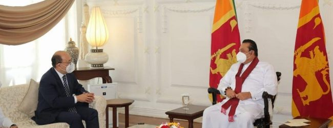 Indian Foreign Secretary meets PM Rajapaksa