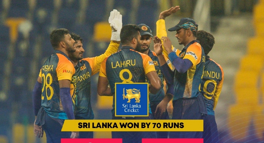 Sri Lanka through to Super 12 after thumping win over Ireland