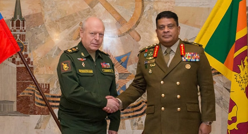 Kremlin Presents Grand Military Honours to Sri Lankan Army Chief