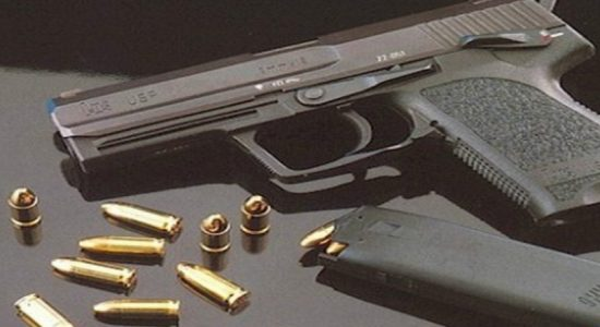 Suspect arrested with illegal firearms