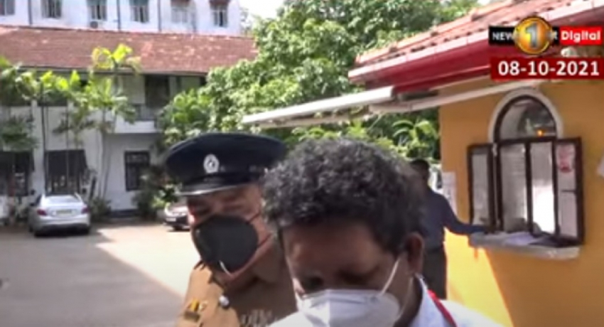 Authorities prevent journalists from filming Nadesan