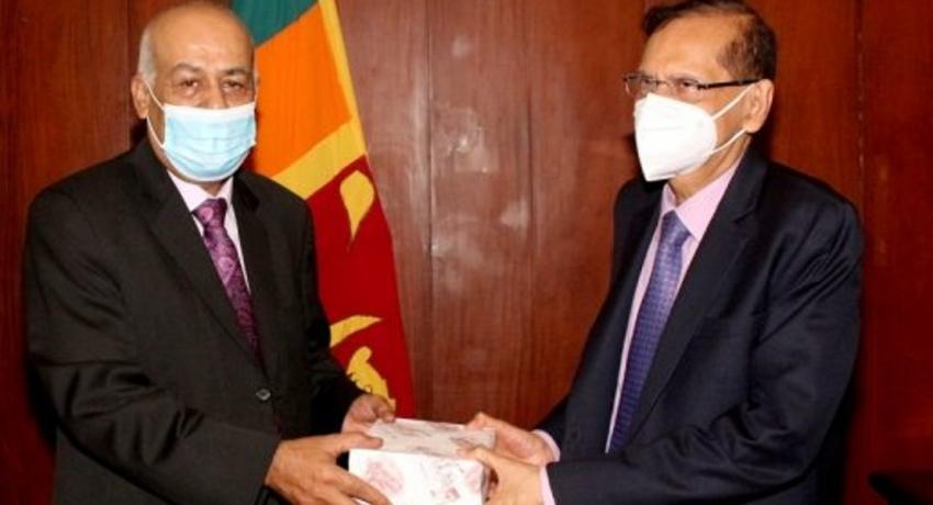 Sri Lanka reiterates support to the Palestine cause